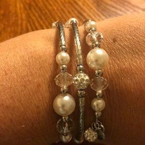 Jewelry - Beaded Coil Bracelet